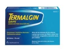 Termalgin Gripe Granulado solución oral