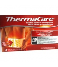 Thermacare Parches Termicos Zona Lumbar y Cadera 4 Unidades