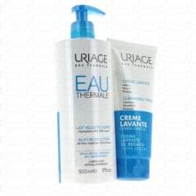 Uriage Pack Leche Corporal Aterciopelada + Crema Lavante