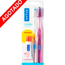 Vitis Cepillo Dental Medio + Obsequio