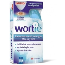 WORTIE COOL TRATAMIENTO ANTI VERRUGAS 50ML