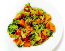 Platos preparados vegetales