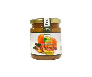 Mermelada melocotón con stevia Abellán 235g.