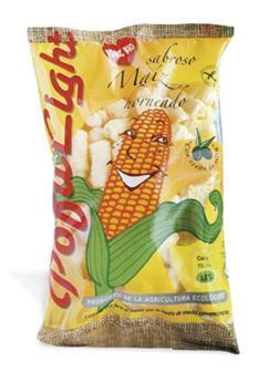Gusanitos de maíz ecológicos 38g.