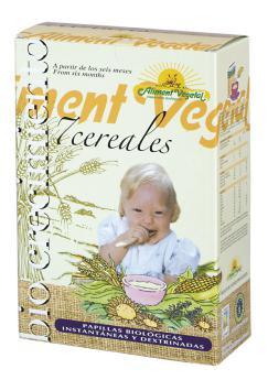 Papilla 7 cereales con miel Aliment Vegetal