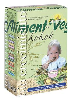 Papilla kokoh Aliment Vegetal 400g.