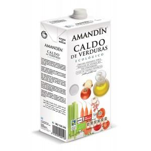 Caldo de verduras Amandín 1l.