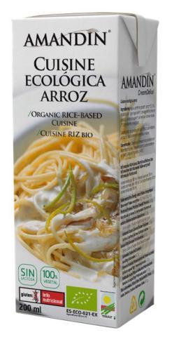 Nata de arroz para cocinar 200ml.