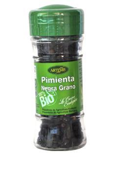 Pimienta negra en grano Artemis 40g.