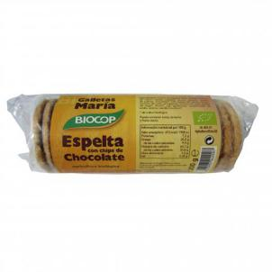 Galleta espelta chocolate Biocop 200g.