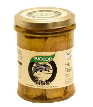 Filetes Melva en aceite de oliva Biocop