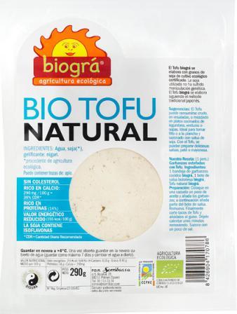 Tofu fresco Biográ 290 gramos