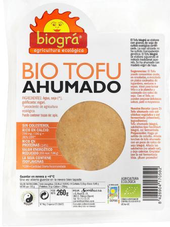 Tofu ahumado Biográ 260g.