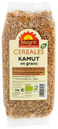 Kamut en grano Biográ 500g.