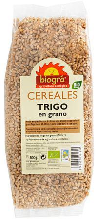 Trigo en grano Biogra 500g.