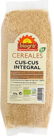 Cuscus integral Biográ 500g.