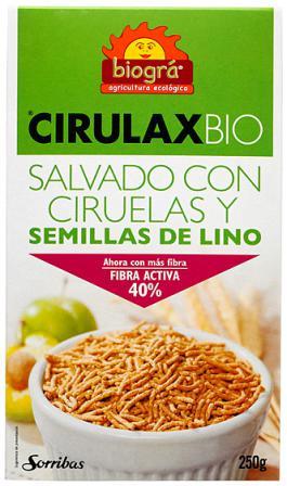 Cirulax bio (salvado+lino+ciruela) Biográ 250g.