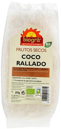 Coco rallado Biográ 150g.