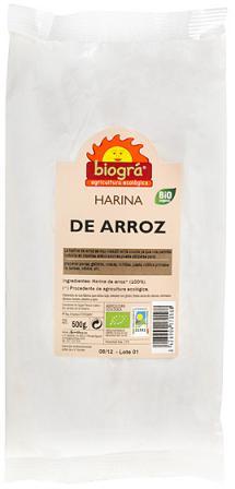 Harina de arroz Biográ 500g.