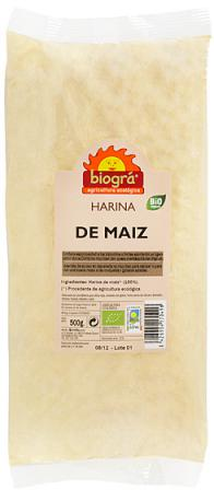 Harina de maiz Biográ 500g.