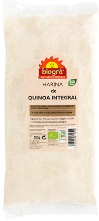 Harina de quinoa integral Biográ 500g.
