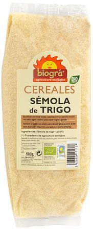 Sémola de trigo Biográ 500g.