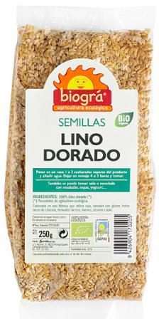 Lino dorado Biográ 250g.