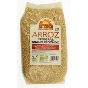 Arroz integral redondo Biográ 1kg.