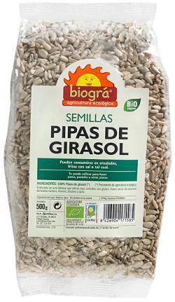 Pipas girasol Biográ 500g.