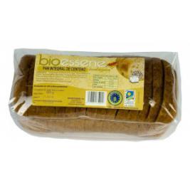Pan de molde de centeno y espelta integral Bioessene 500g.