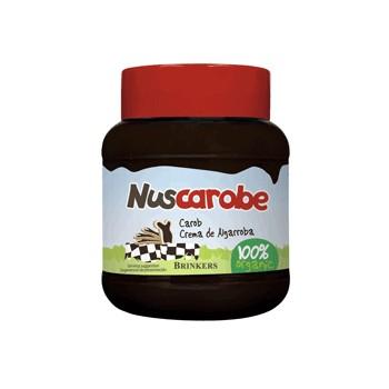 Crema de algarroba natural Nuscarobe 400g.