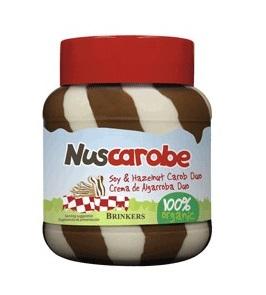 Crema de algarroba duo Nuscarobe 400g.