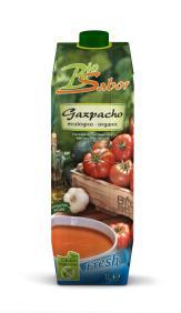 Gazpacho ecológico Bio Sabor Nature 1l.