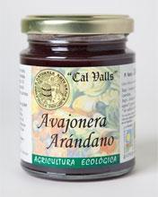 Mermelada arándano eco Cal valls 240g.