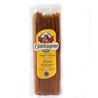 Espaguetis de kamut integral Castagno 500g.