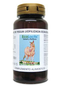 Leche yegua liofilizada Ecolactis 90 cápsulas