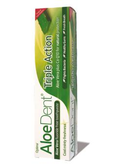 Dentífrico Aloe dent 100ml.