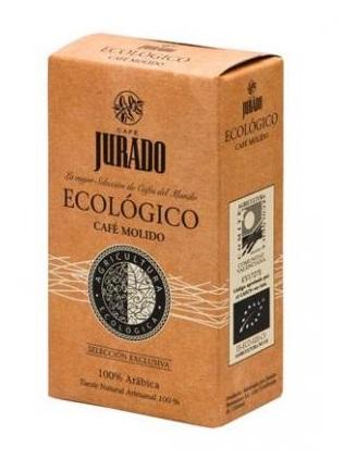 Café molido ecológico Jurado 250g.