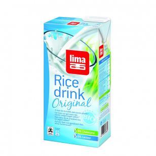 Bebida arroz original Lima 1l.