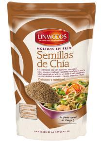 Semillas de Chía (molidas en frío) Linwoods 200g.
