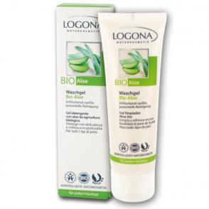 Gel limpiador facial Aloe Vera Logona 75ml.