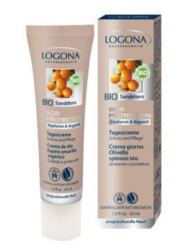 Crema de día age protection Logona 30ml.