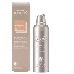 Maquillaje Natural finish 03 Logona