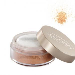 Maquillaje polvo beige 01 Logona