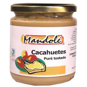 Crema de cacahuete Mandolé