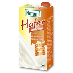 Bebida de avena bio Vegan Natumi 1l.
