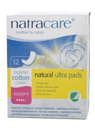 Compresas naturales super plus 12 unidades