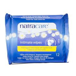 Toallitas húmedas íntimas Natracare 12 unidades