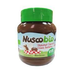 Crema de chocolate avellanas Nuscobio 400g.