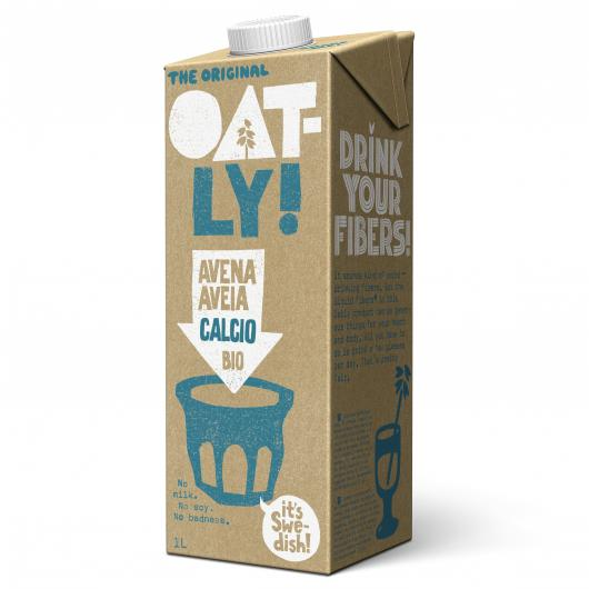 Bebida de avena con calcio Oatly bio 1l. (Pack 11+1)